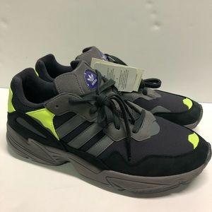 adidas Originals Yung-96 Shoes Carbon Grey Size 12